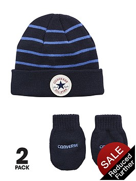 converse-baby-boys-stripe-hatmitts-set