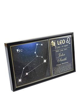 personalised-star-sign-framed-print