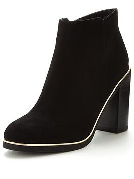 v-by-very-cara-gold-trim-block-heel-ankle-boot