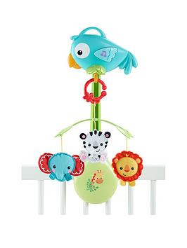 FisherPrice Rainforest Friends 3In1 Musical Mobile
