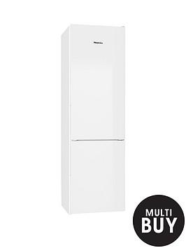 miele-kfn29032-60cm-frost-free-fridge-freezer-white