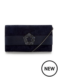 phase-eight-georgie-suede-clutch-bag