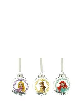 disney-princess-christmas-tree-bauble-decorations-set-of-3
