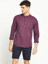 Long Sleeve Grandad Shirt