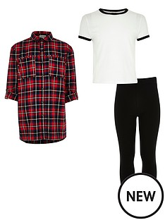river-island-girls-red-check-shirt-t-shirt-and-leggings