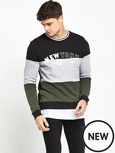 river-island-new-york-colour-block-sweat-top