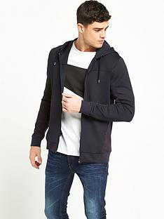 river-island-mesh-panel-hooded-top