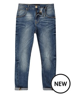 river-island-boys-mid-blue-wash-tony-slouch-fit-jeans