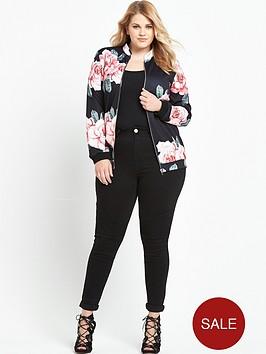ax-paris-curve-floral-bomber