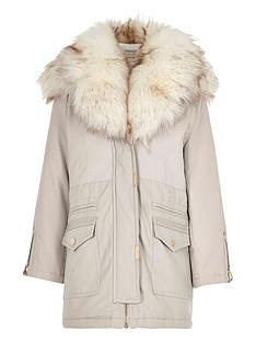 river-island-girls-grey-faux-fur-trim-parka