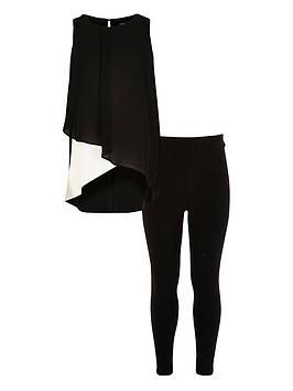 river-island-girls-colour-block-top-and-leggings-set