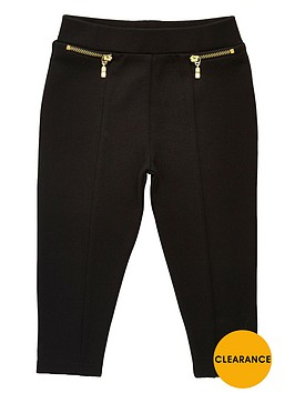 river-island-mini-girls-black-ponte-leggings
