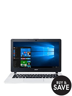 acer-aspire-es-13-intelreg-celeronreg-processor-4gb-ram-32gb-emmc-ssd-storage-133-inch-laptop-with-optional-microsoft-office-365-home-white