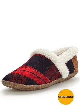 toms-slip-on-slipper-red-and-black-plaid