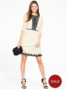 oasis-rosie-lace-yoke-pleat-dress-ivory