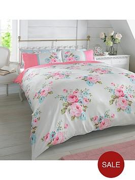 rosie-floral-duvet-set-pink