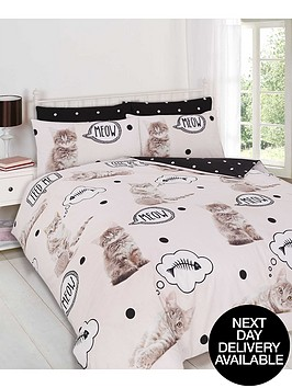 walkies-kitten-duvet-set-multi