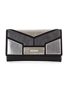 v-by-very-colourblock-metallic-clutch