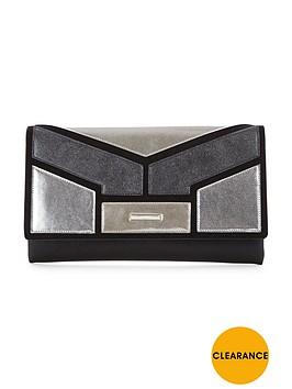 v-by-very-colourblock-metallic-clutch
