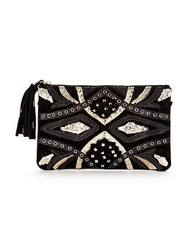 v-by-very-premium-statement-suede-embellished-clutch
