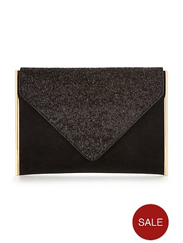 v-by-very-glitter-top-envelope-clutch