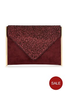 v-by-very-glitter-top-envelope-clutch