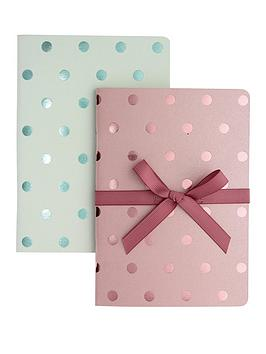go-stationery-shimmer-a6-notebooks