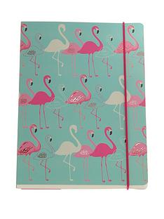 go-stationery-flamingo-a5-notebook