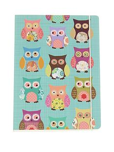 go-stationery-owls-a5-notebook