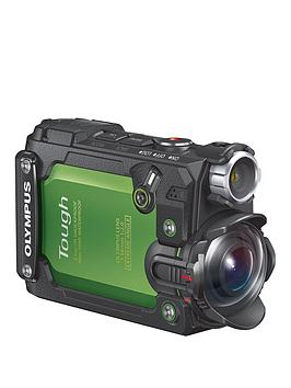 Olympus Olympus Tg Tracker Waterproof Action Camera  Green