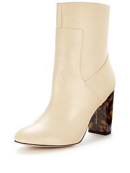 miss-selfridge-miss-selfridge-nude-contrast-heel-sock-boot