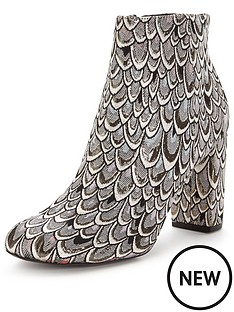 miss-selfridge-brocade-ankle-boot