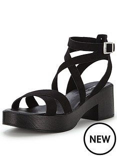 miss-selfridge-francanbspchunky-strap-sandal-black