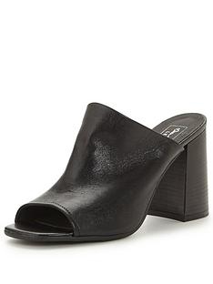 miss-selfridge-soho-leather-mule-sandalnbsp