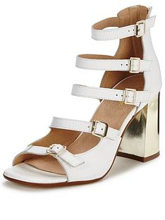miss-selfridge-suva-leather-buckle-heel-sandalnbsp