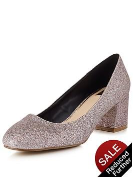 miss-selfridge-metallic-scallop-heeled-shoenbsp