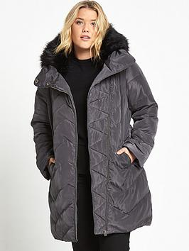 so-fabulous-longline-padded-jacket-dark-grey