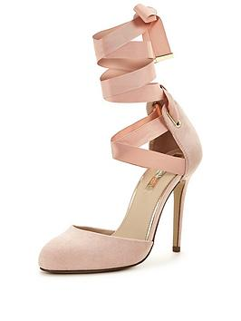 miss-selfridge-ballet-wrap-heeled-shoenbsp