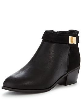 miss-selfridge-casual-ankle-boot