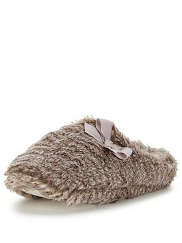 v-by-very-brandy-bow-detailed-mule-slipper