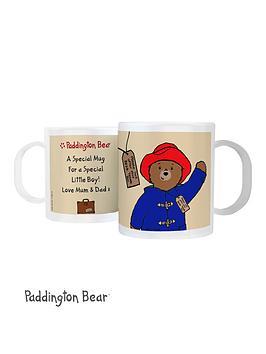 paddington-bear-personalised-plastic-mug