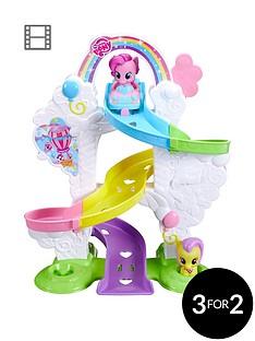playmobil-playskool-friends-my-little-pony-pinkie-pie-ride-039n-slide-ramp