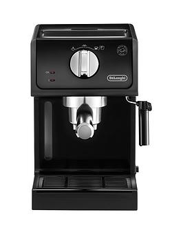 Delonghi Ecp Traditional Pump Coffee Machine  Black
