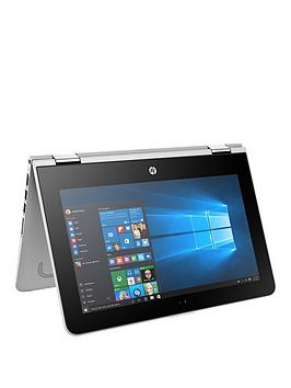 Hp Pavilion X360 11U003Na Intel&Reg Pentium&Reg Processor 4Gb Ram 1Tb Hard Drive 11.6 Inch Touchscreen 2In1 Laptop  Silver  Laptop Only