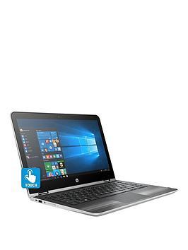 hp-pavilion-x360-13-u011na-intelreg-coretrade-i3-processor-8gb-ram-1tb-hard-drive-133-inch-touchscreen-2-in-1-laptop-with-optional-microsoft-office-365-home-silver