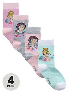disney-princess-girls-4-pack-of-socks