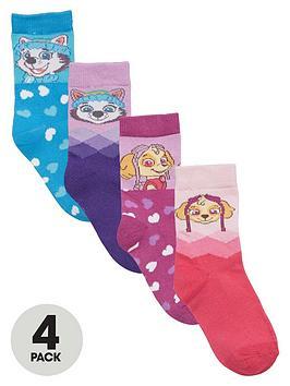 paw-patrol-girls-4-pack-of-socks