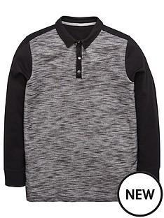 v-by-very-boys-long-sleeve-pu-panel-polo-shirt