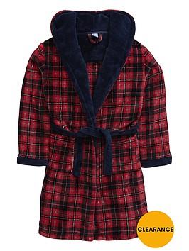 v-by-very-boys-tartan-fleece-robe