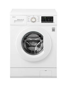 Lg Fh4G7Qdn0 7Kg Load 1400 Spin Washing Machine  White